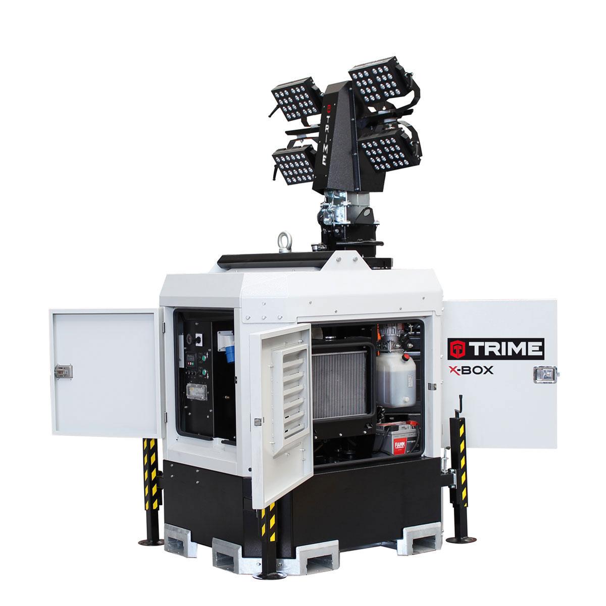 prozektoru-masts-led-x-box-4x300W-48V-durvis-atvertas