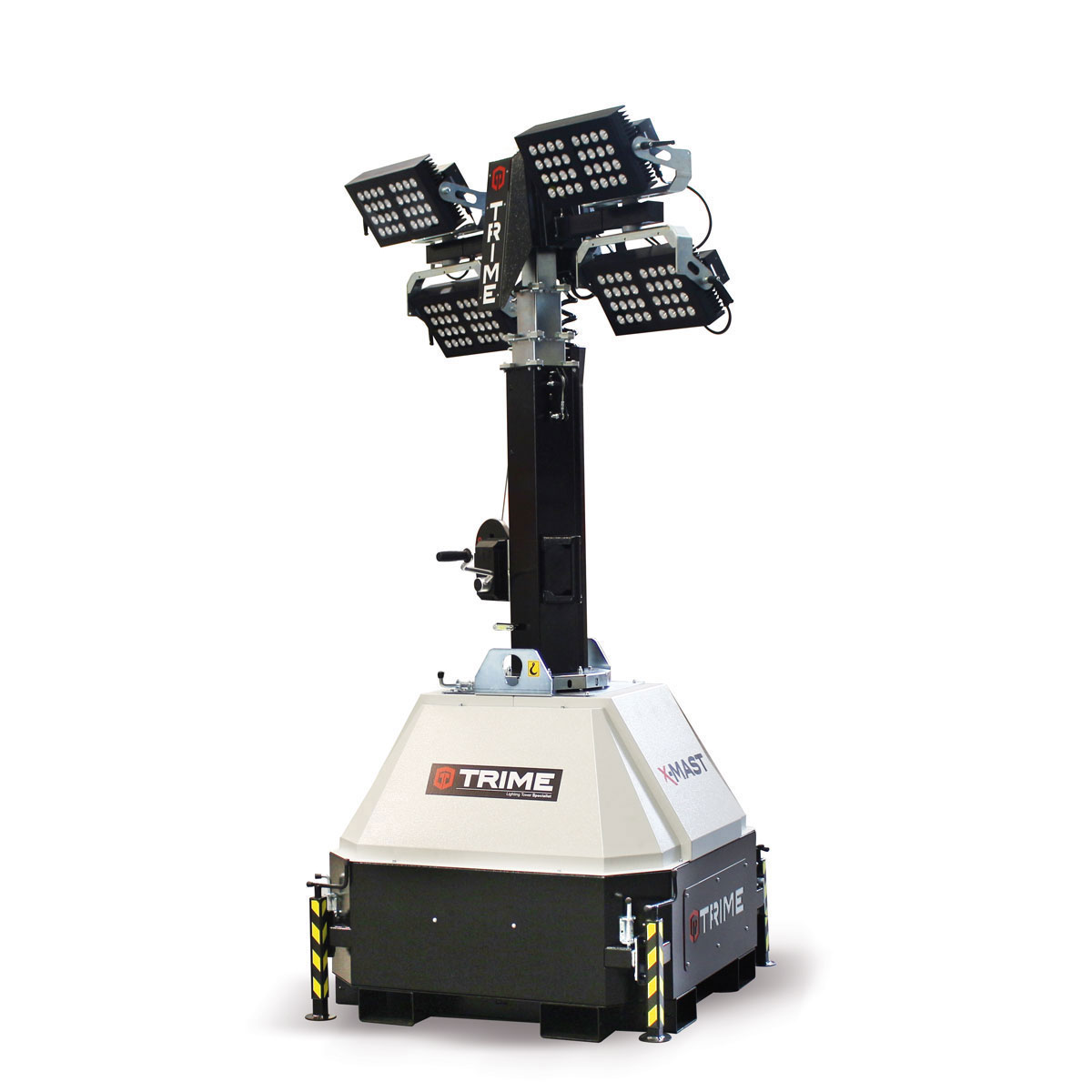 prozektoru-masts-led-x-mast-4x300W-salikta-pozicija